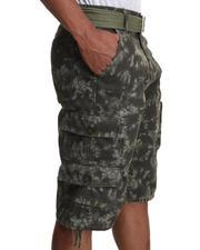 Men - Tye Dye Belted Shorts