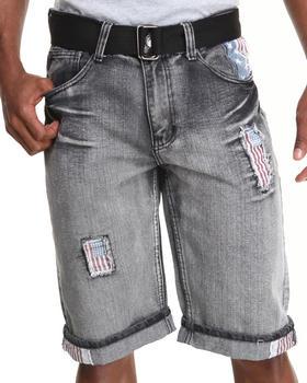 Basic Essentials - Americana Denim Shorts