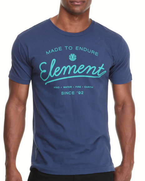 Element Navy Hard Tee