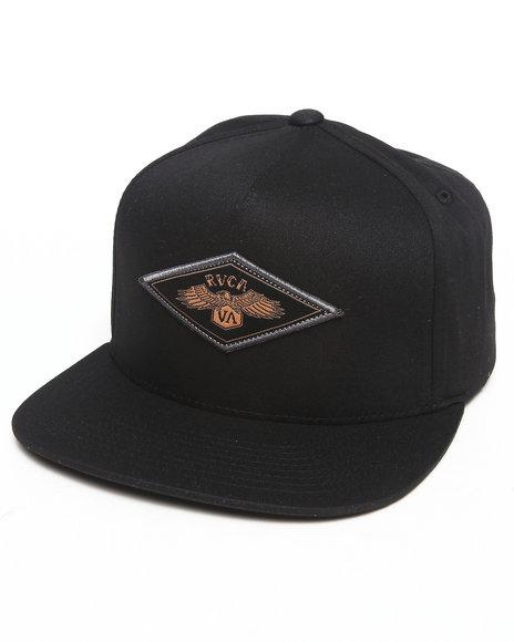 Rvca Brigade Snapback Cap Black