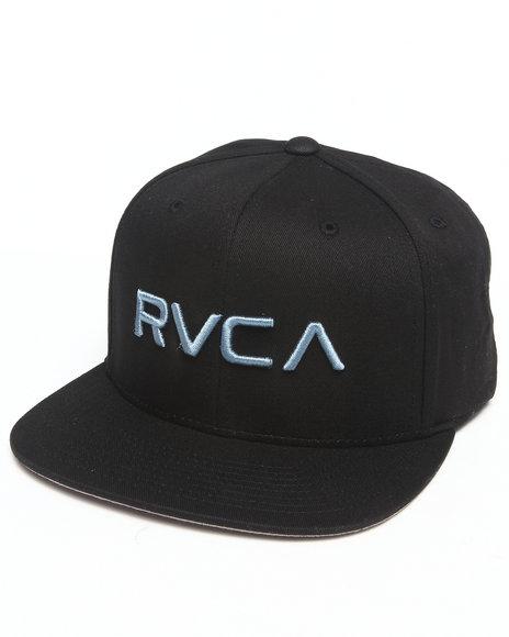 Rvca Rvca Twill Snapback Ii Cap Black