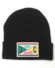 Men - Retro 89 Label Beanie Hat