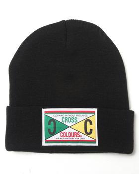 Cross Colours - Retro 89 Label Beanie Hat