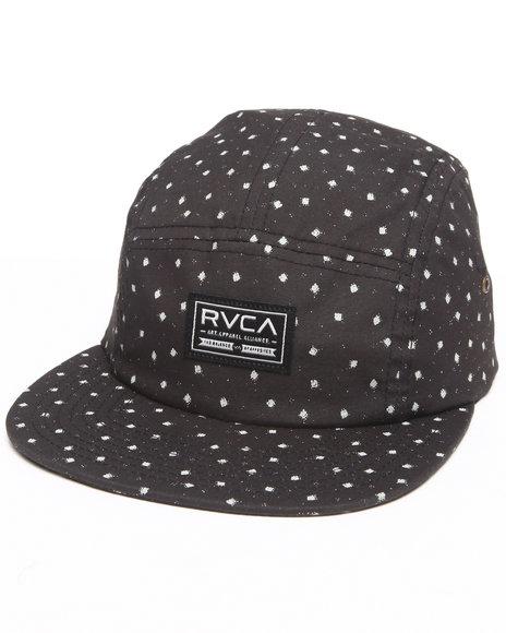 Rvca Pox 5-Panel Cap Black