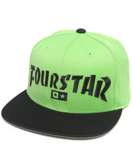 Fourstar Highspeed Snapback Cap Green