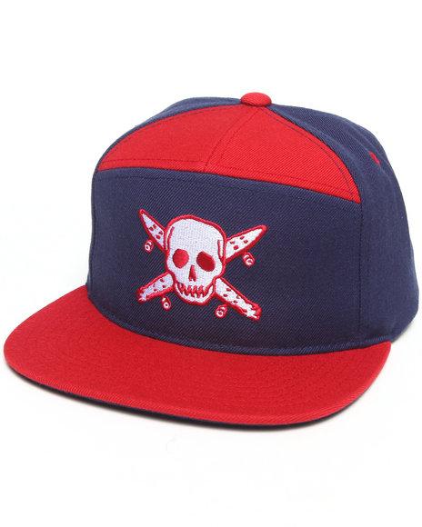 Fourstar Pirate Arch Snapback Cap Navy