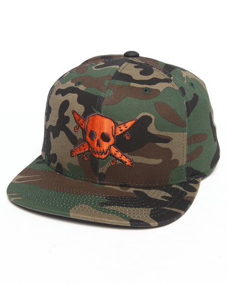 Fourstar Pirate Snapback Cap Camo