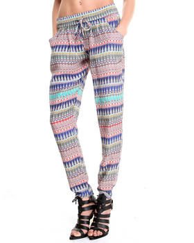 DJP OUTLET - Silk Printed Pants
