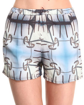 Collina Strada - Silk Spain Print Short