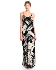 Dresses - Bamboo Deep V Maxi Dress