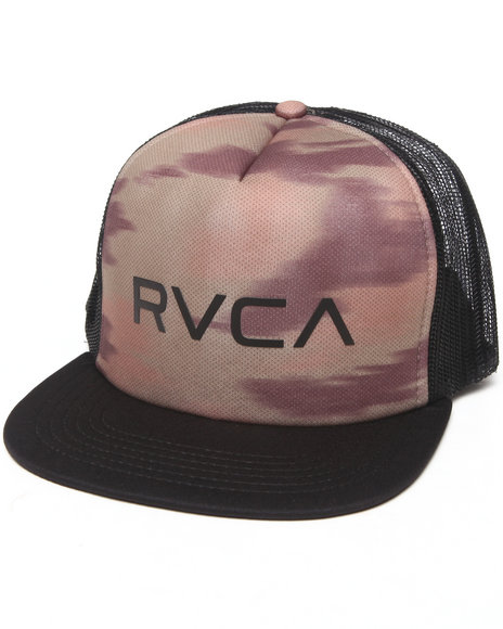 Rvca The Rvca Trucker Ii Snapback Cap Camo