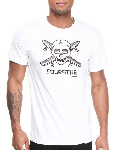 Fourstar White Dressen Pirate Tee