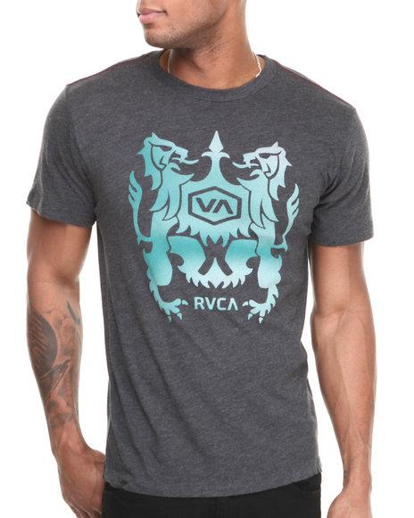 RVCA Black Static Crest