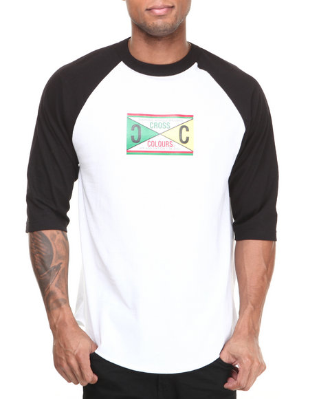 Cross Colours - Retro 89 Raglan Tee