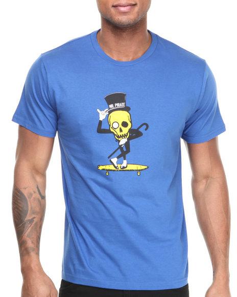 Fourstar Blue Mr. Pirate Tee