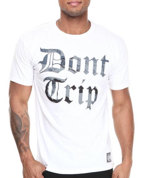 Rocksmith - Men White Don't Trip T-Shirt - $21.99