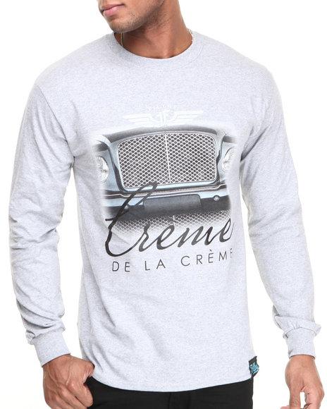 Filthy Dripped Grey Creme De La Creme L/S T-Shirt