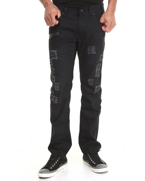 Rocksmith - Men Black Bowery Black Denim Jeans