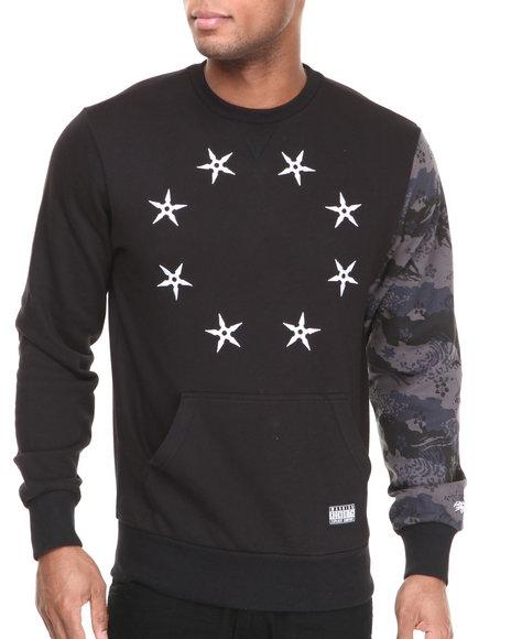 Rocksmith Black Ninja Star Crewneck Sweatshirt