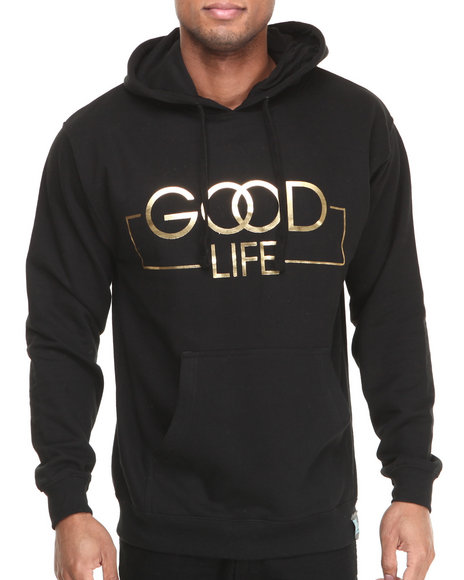 Filthy Dripped Black Good Life Hoodie