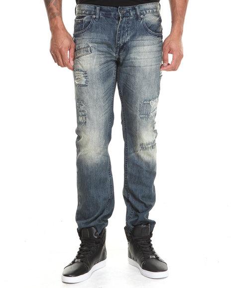 Rocksmith Indigo,Medium Wash Fairfax Indigo Denim Jeans
