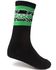 Men - Pirate Stripe 3-Pack Crew Socks