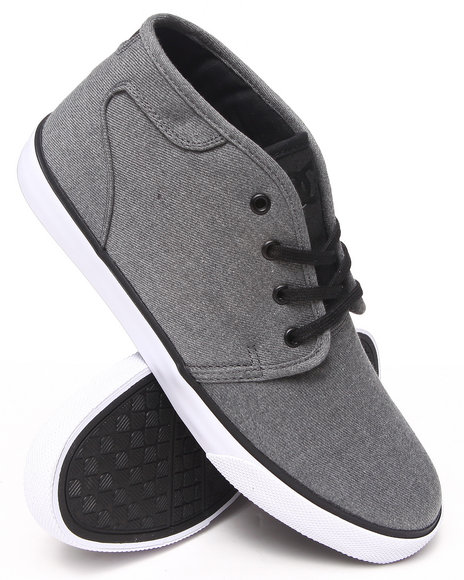 Dc Shoes - Men Black Studio Mid Tx Sneakers - $63.99