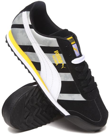 Puma Black Roma Basic Dd Sneakers