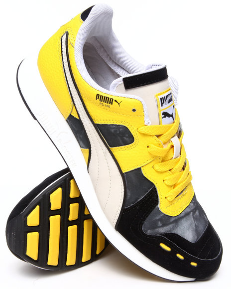 Puma - Men Yellow Rs100 Dd Sneakers