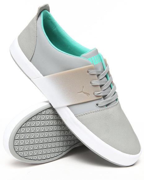 Puma Grey El Ace 3 Lo Dip Dye Sneakers