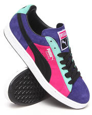 Puma - Suede Stripes and Blocks Sneakers