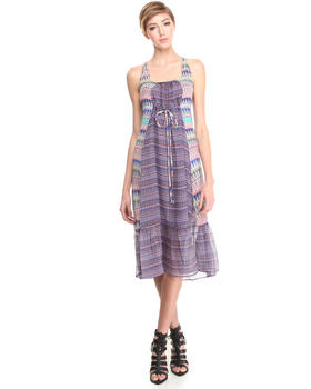 DJP OUTLET - Silk Printed Dress