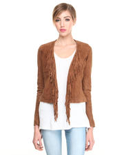 Leather & Fur - Mandisa Suede Jacket