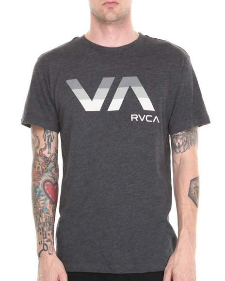 RVCA Charcoal Va Tribar Tee