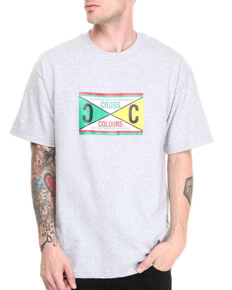 Cross Colours Grey Retro 89 Tee