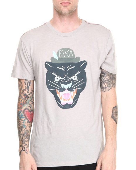 RVCA Grey Panther Head