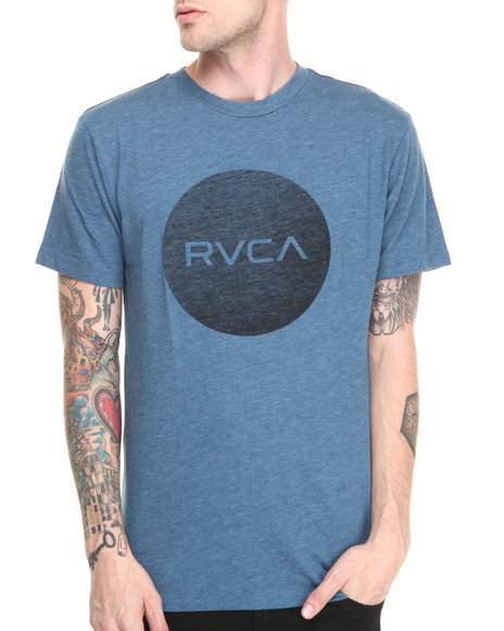 Rvca - Men Blue Motors Tee - $19.99