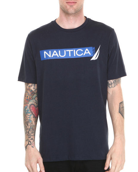 Nautica - Men Navy Nautica 1983 T-Shirt