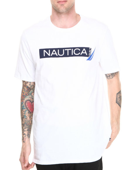 Nautica White Nautica 1983 T-Shirt