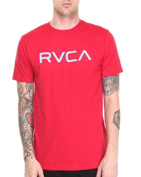 Rvca - Men Red Big Rvca Tee