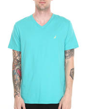 Men - Contrast Collar T-Shirt