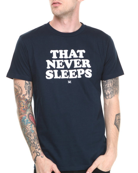 Fourstar - Men Navy City Slogan New York Tee