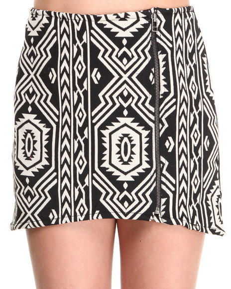 Minkpink - Women Black Pardon My Freedom Skirt - $32.99