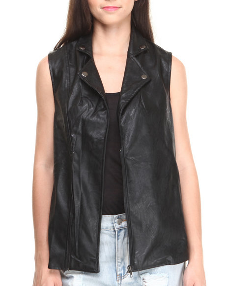 MINKPINK - All I Need Biker Vest