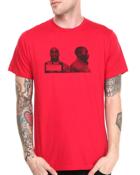 Fourstar - Men Red Mugshots Tee