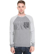 Men - TWO TONE PULL OVER