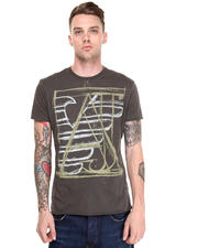 Men - ABSTRACT LOGO TEE