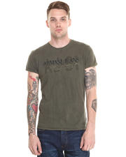 Armani Jeans - EMBROIDERED LOGO TEE
