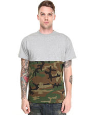Shirts - Raise-Up Split Camo Tee