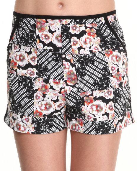 MINKPINK Multi Shibori Flower Shorts